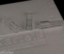 Cuvette de micro semi haute forme UV grade PMMA 2,5 ml 10mm chemin x 100 kartell