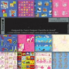 """Dovecraft Kids Sample Paper Pack (12 sheets x 8x8"""" size)"""