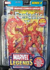 "Marvel Legends 6""  Figure Fantastic Four HUMAN TORCH #4 Variant Series 2 Sealed"