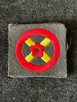 WW2 Western Command Embroidered Formation Badge Patch Sign Army Military