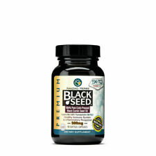 Amazing Herbs Black Seed Oil 500mg Softgels - 90 Count