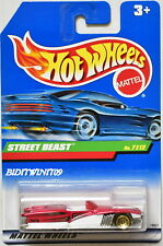 HOT WHEELS 1999 TREASURE HUNT SERIES STREET BEAST #7/12 INTERNATIONAL CARD W+