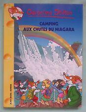 Geronimo Stilton camping aux chutes du Niagara