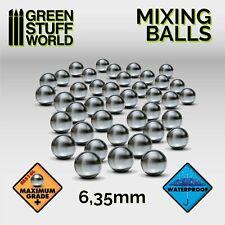 40x Bolas Acero 6,35mm - Mezcladoras Pintura - Antioxido - Vallejo Model Color
