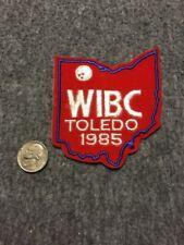 Vintage Wibc Toledo Ohio 1985 Bowling Patch Mint