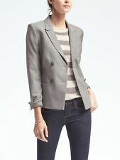 Banana Republic WMNS Double Breasted Lightweight Wool Blazer - Size  6