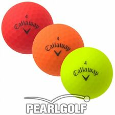 50 CALLAWAY SUPERHOT 2018 BOLD GOLF BALLS COLOURED - ALL PEARL - NO PEN MARKS