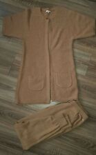CHLOE Two Piece Suit Brown Size 14