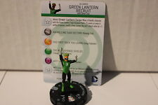 Heroclix DC War of Light #GREEN LANTERN RECRUIT CORPS #005(4 FIGURES )