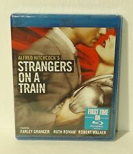 Strangers on a Train (Blu-ray Disc, 2012 Alfred Hitchcock NEW Authentic Region A