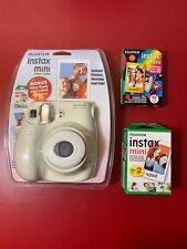Fujifilm Instax Mini 7s Instant Camera w/ Bonus Film 10 + 30 Xtra Exposure White