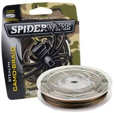 Spiderwire Stealth Smooth Camo-Braid 300m Carrier 8 Fishing Line 23lb - 75lb