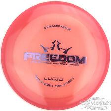 New Salmon Orange Lucid Freedom Distance Driver 172g Dynamic Discs Disc Golf