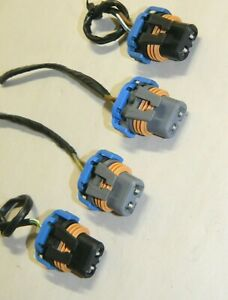 BMW E30 E32 E34 E36 318i 325i M3 525i 535i 735i 740iL Ellipsoid Headlight Plugs