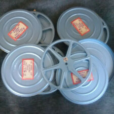 4x 8mm 400 ft Matching Set Metal Reels and Cans Top Quality!
