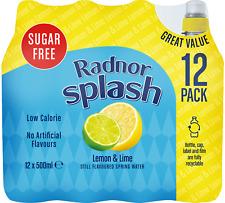 Radnor Splash No Added Sugar Flavoured Water Fruits Mix N Match - 12 x 500ml