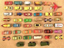 Matchbox Lesney King-Size Job Lot Bundle, Vintage Cars, Buses, Army, Lorries X47