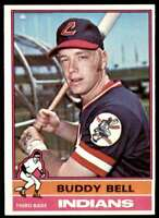 1976 Topps Baseball Nm-Mt Buddy Bell Cleveland Indians #358