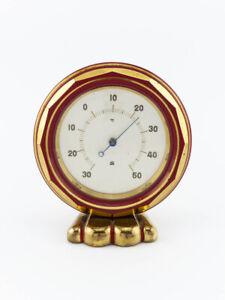 Wunderschönes SBE Tisch Thermometer aus den 30er Jahren Art Deco