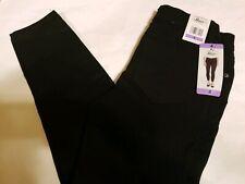 NWT Womens GH Bass Size 4 Skinny Leg Ankle Length Black Jean Pants