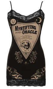 Se7en Deadly Ouija Lace Camisole Seven Cami Oracle Tank Top Shirt Occult 2054-C