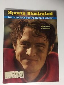 Steve Owens, Oklahoma Football, 11/10/1969 Sports Illustrated Magazine