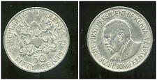 KENYA 50 cent 1973