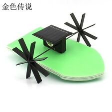 Mini Solar Powered Toy DIY Boat Kit Children Educational Gadget Hobby Funny