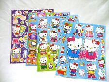 Hello Kitty 4 X A4 hojas de brillante hoja de pegatinas (410) Bolsas De Fiesta Media