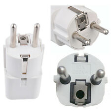 1x World Universal US/UK/AU to EU AC Power Plug Travel Wall Adapter Converter CN