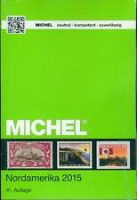 MICHEL Übersee Volume 1 parte 1 2015: NORD AMERICA 41. Edizione colori NUOVO