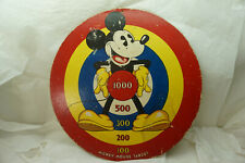New listing Disney Mickey Mouse Target Marks Brothers 1930s Vintage Pie Eyed 17in Toy Orig
