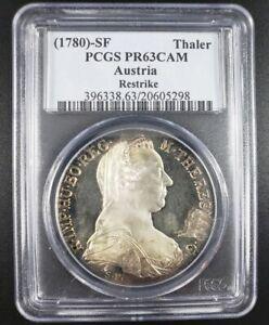 1780 SF Thaler PCGS PR63CAM Austria Silver Coin