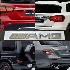 Logo Fregio Emblema MERCEDES AMG Classe A B C CLA GLA E S SLK metallo Posteriore