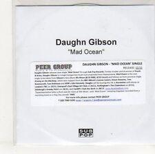 (EO829) Daughn Gibson, Mad Ocean - DJ CD