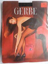 GERBE  Collant FATAL 15  Noir  Aspect 15 Deniers  neuf   taille  2