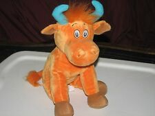 DR. SEUSS MR. BROWN CAN MOO CAN YOU? ORANGE COW/ BULL WITH HORNS KOHL'S CARES