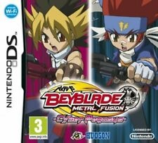 Beyblade Metal Fusion Cyber Pegasus Nintendo DS 2DS NDS Video Game UK Release