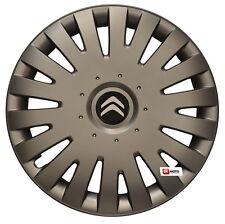 14'' Wheel trims Hub Cups for CITROEN C1 C2 C3 C4 Berlingo Saxo - graphite new