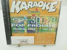 CHARTBUSTER  KARAOKE 30028 Vol 28 CD+G player needed new sealed