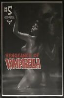 VENGEANCE OF VAMPIRELLA  #5 LUCIO PARRILLO BLACK WHITE FOC VARIANT 1:11 NM