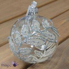 Décorations de sapin de Noël transparents Gisela Graham