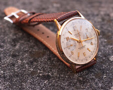Vintage Watch Cauny Prima 1962 Dress Chronograph