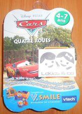 JEU V.SMILE / VSMILE VTECH DISNEY PIXAR CARS QUATRE ROUES (4 - 7  ans) Neuf