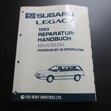 Werkstatthandbuch Subaru Legacy BC/BJF Ergänzung für US- Modelle ab 1993