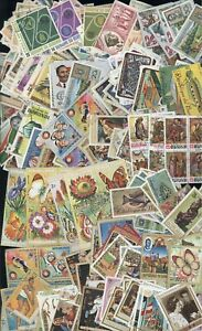 Burundi Africa Stamp All Different CTO Topical Butterfly Flower Space Lot H86