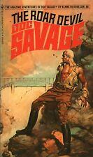 DOC SAVAGE THE ROAR DEVIL By KENNETH ROBESON Bantam PB 1935 1977