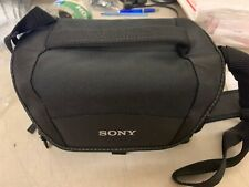 New Sony LCS-U21 Soft Carrying Case (Black) - Free Shipping!