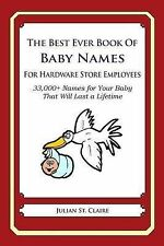 The Best Ever Book of Baby Names for Hardware Store Employees: 33,000+ Names for