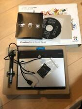 WACOM Intuos Comic Art Pen & Touch Tablet  CTH-480/S3 from Japan F/S USED